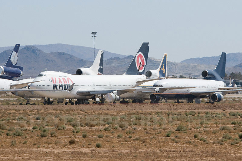 Aircraft Storage Yard In Victorville California Dandk